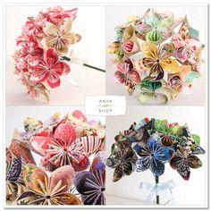 paper bouquets!