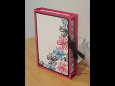 Full dimensions over on my blog as always: http://craftycarolinecreates.blogspot.com/2015/08/book-style-box-tutorial-using-flower.html Email me with any ques...