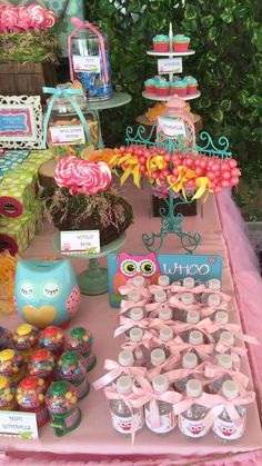 Owls Birthday Party Ideas | Photo 2 of 15 | Catch My Party