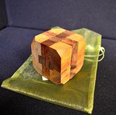 Wooden diamond #puzzle #handmade in #Thailand! #fairtrade