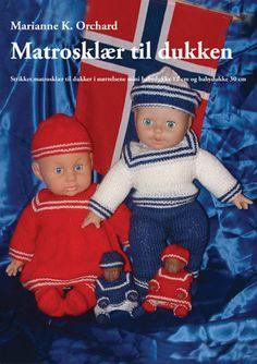 Oppskrifter på dukkeklær Baby Born, Ronald Mcdonald, Crochet Hats, Mini, Fictional Characters, Knitting Hats, Fantasy Characters