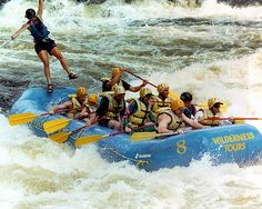 I wouldn't want to be the passenger going overboard, but yes, I would like to do some serious whitewater rafting.