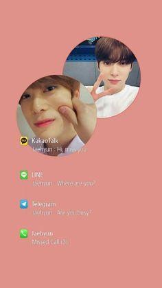 Jaehyun wallpaper fake notif Fake Wallpaper, Message Wallpaper, Korean Quotes, Boy Idols, Park Ji Sung, Jung Yoon, Jung Jaehyun, Jaehyun Nct, My Mood