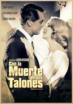 Con la muerte en los talones (1959) Castellano, VOSE y Online