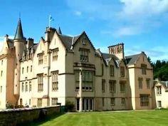 Brodie Castle, Scotland - YouTube