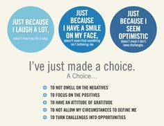 I've realized that every day I get to choose my attitude and today...  I choose to be _share____. What will you choose?