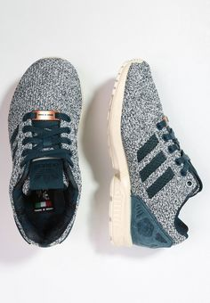 7452e34fb adidas Originals ZX FLUX Sneaker surf petrol chalk white