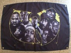 Custom made hiphop Wutang style fabric poster CooL Hiphop Classic style #hiphop #wutang