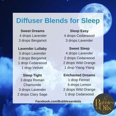 One of the most common things people use Essential oils for is SLEEP! I do! Here is some diffuser blends you can use at night time to help you get a blissful night sleep! They can also be used as roller blends when combined with fractionated coconut oil, contact us for info on how to purchase or a free 1 on 1 oil consultation! #goinggreen #sleepingdiy #essentialoilsfun