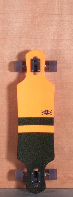 Globe 35 Geminon Orange Longboard Complete