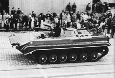 BMP-1 infantry fighting vehicle of the Czechoslovak People's Army.