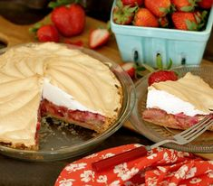 Here Is What You Should Eat To Celebrate Spring: Strawberry Rhubarb Meringue Pie | TODAY.com