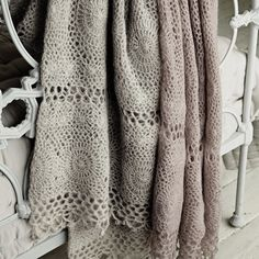 Hand-crocheted Throw £200 from The White Company