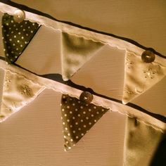 Handmade Wedding Bunting by Stables Home and Garden