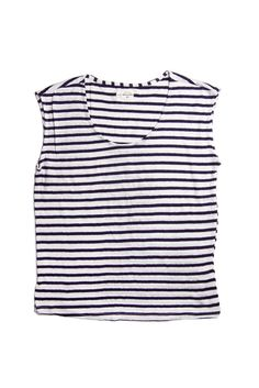 Elm Royal Stripe Tank Top