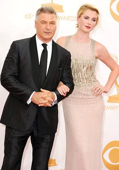 Alec Baldwin took model daughter Ireland, 17, as his date to the 65th Annual Primetime Emmy Awards.