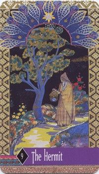 Enchanted Tarot - The Hermit