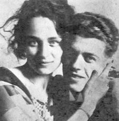 Georgette and Rene Magritte.