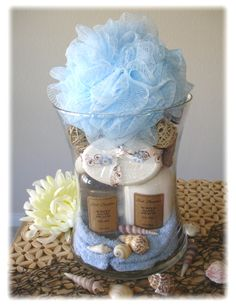Spa vase, cute Christmas or birthday idea.