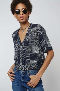 Bandana Holly Shirt - Topshop