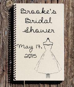 Bridal Shower Book - Personalized Bridal Shower Book - Bridal Shower Guest Book