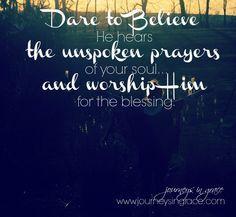 The prayer that revi