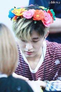 Hanbin is just so beautiful
