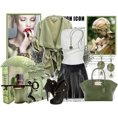 """a bit of green"" by ula-mansfeld on Polyvore"