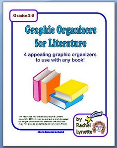 4 Graphic Organizers to Use with Any Book
