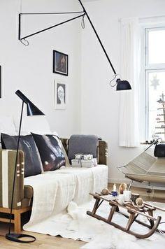 Christmas wood - via Coco Lapine Design