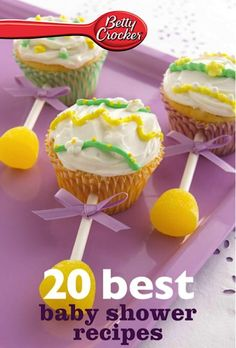 Bargain e-Cookbook: Betty Crocker 20 Best Baby Shower Recipes {99 cents!} #showers
