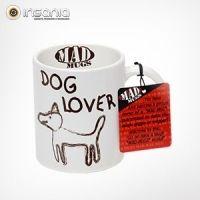 """Taza Mad Mug Amante de Perros  """"...Aviso a quien no le gustan los perros... ¡No puede tocar esta taza!..."""""""