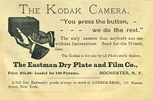 Eastman Kodak Company (NYSE: EK) (commonly known as Kodak) is a multinational imaging and photographic equipment, materials and services company headquarted in Rochester, New York, United States. It was founded by George Eastman in 1892.