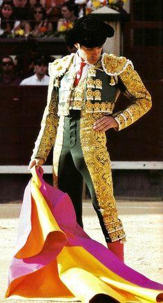 Toreo español. Spanish bullfighter