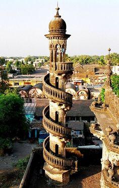 Minaret en spirale - Hyderabad, India