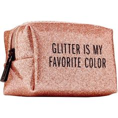 Sephora Pinch Provisions Minimergency® Kit For Her - Rose Gold Glitter Found on my new favorite app Dote Shopping Trousse Make Up, Minimergency Kit, Cute Makeup Bags, Makeup Set, Lip Makeup, Cute School Supplies, Wash Bags, Cute Bags, Beauty Box