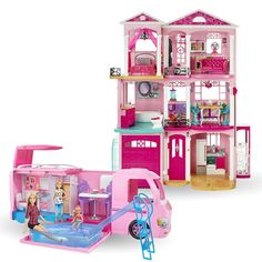 Check out the Barbie Home and Away Gift Set at the official Barbie website. Explore all of our Barbie Gift Sets today! Barbie Website, Kawaii Nails, Barbie Toys, Best Kids Toys, Barbie Dream House, Dollhouse Dolls, Home And Away, Cool Stuff, Projects