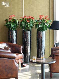 LOFT black diamond planter by fleur ami ● Pflanzgefäß von fleur ami