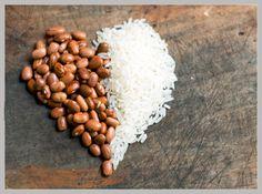 Comer arroz e feijão engorda?