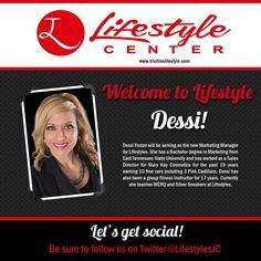 tri cities lifestyle center christine waxstein new employee announcement graphics pinterest graphics - New Employee Announcement