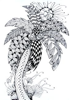 Zentangle Palm