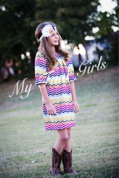 Hey, I found this really awesome Etsy listing at https://www.etsy.com/listing/208185932/chevron-dress-girl-dress-fall-dress