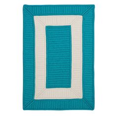 Breakwater Bay Kenton Blue Area Rug Rug Size: 2' x 3'