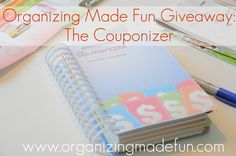 Want a great way to organize you coupons? The Couponizer...This is it! Come to OMF and enter to win one of these!