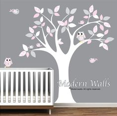 Sherly On Nursery Wall Stickers Tree Decal Nursery And Tree Decals - Nursery wall decals girl
