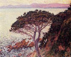 Sunset - Theo van Rysselberghe