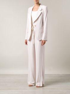 Ann Demeulemeester Single Button Blazer - Traffic Women - Farfetch.com