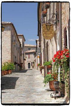 Borgo di Montegridolfo - Rimini - Emilia Romagna
