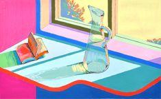 この課題は随分前に武蔵野美術大学の工芸工業デザイン科の入試問題です。色々と指定された窓際の状況を色彩表現する課題です。2年生のMさんの作...