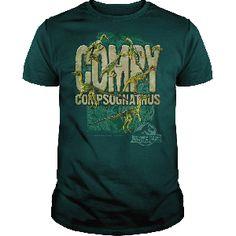 t-shirt Jurassic Park Compy